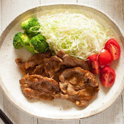 Japanese Stir Fry Pork With Ginger Recipe - Shogayaki
