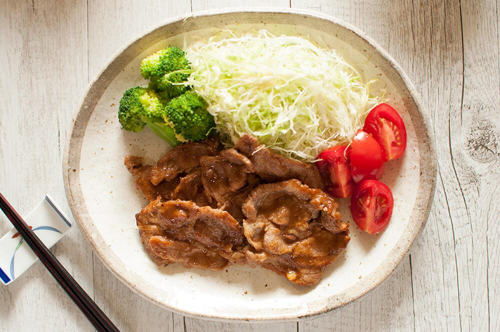 Japanese Stir Fry Pork With Ginger