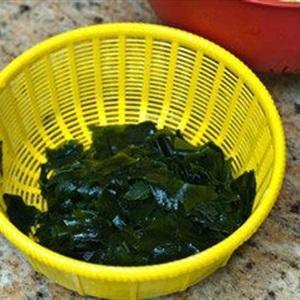 wash seaweed
