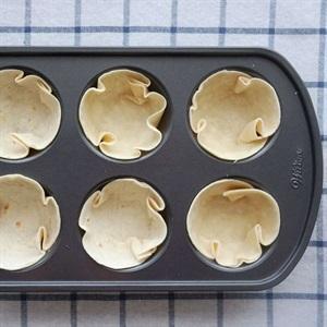 bake the tortilla wrap