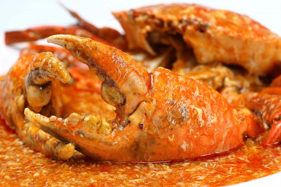 Add crab and stir finely