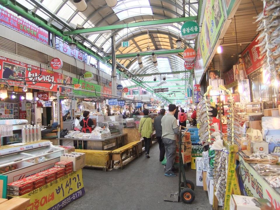 Gwangjang Market - All Asia Recipes