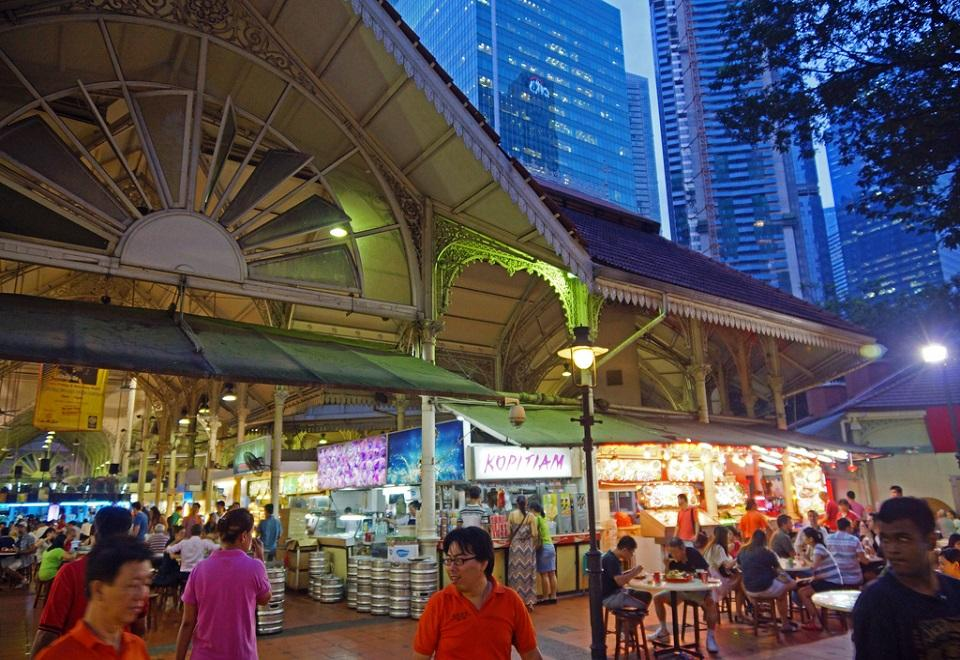 Lau Pa Sat Market - All Asia Recipes