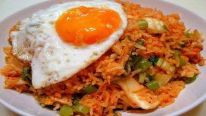 how to make fried rice with kimchi