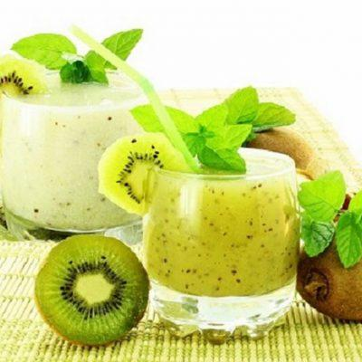 kiwi banana smoothie