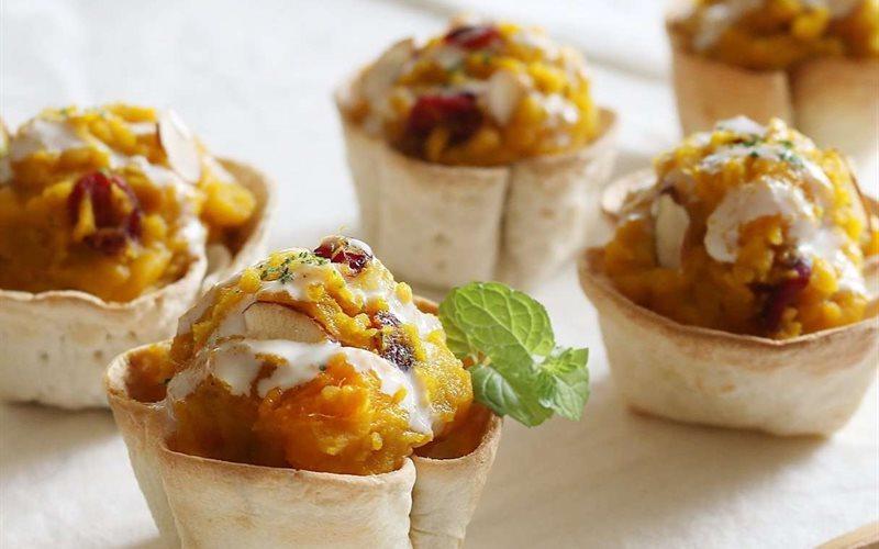 Pumpkin Salad Recipe: Pumpkin And Sweet Potato Salad