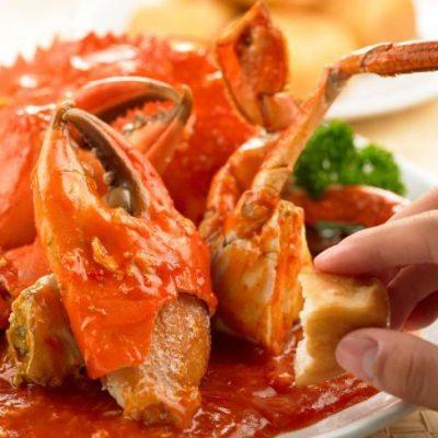 yummy spicy crab