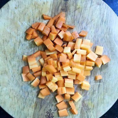 dice carrot