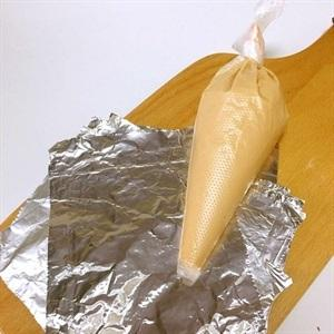 pour the mixture into a pastry bag