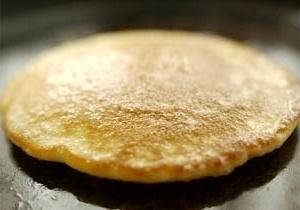 fry cornmeal pancakes