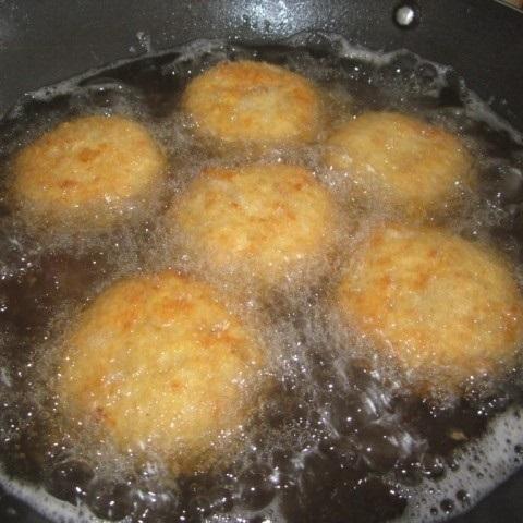 fry the balls