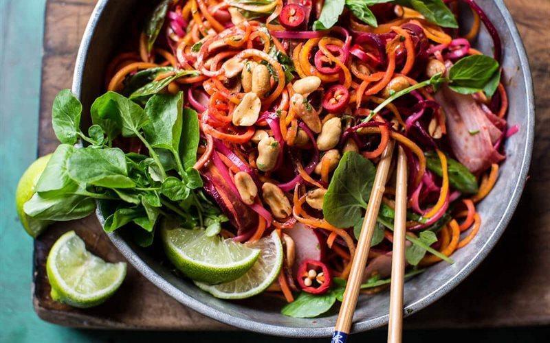 Thai Salad Recipe: How To Make Vegetable Salad