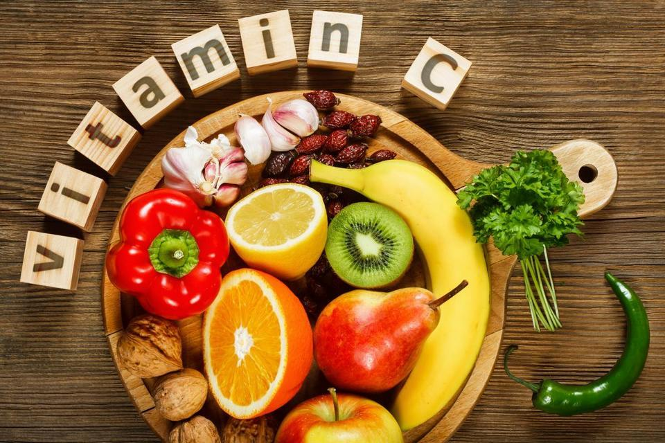 Vitamin C protects the structure of bones and assists to absorb other nutrients