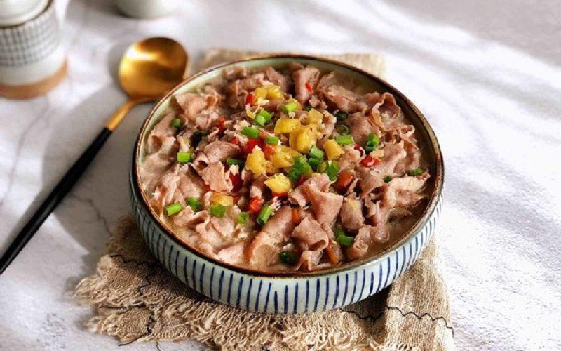 Beef Mushroom Recipe: Beef Stir-fried With Enoki Mushroom