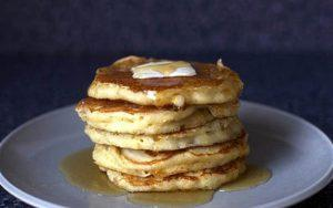 cornmeal pancake