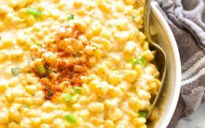 creamed sweetcorn