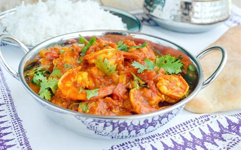 Shrimp Curry Recipe: Make Indian-style Shrimp Curry