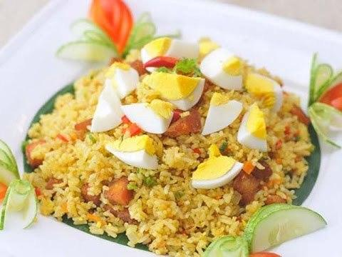 Simple Fried Egg Recipe: Rice Fried With Salt Egg