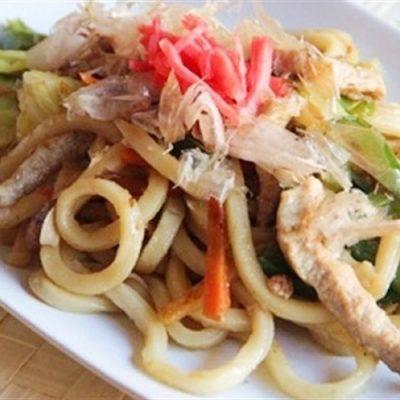 udon noodle stir fry
