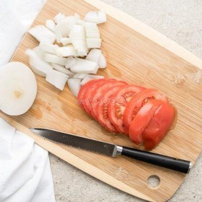 process tomato and onion