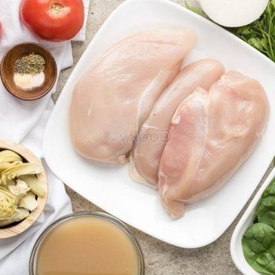 wash chicken breast