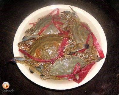 wash small crabs