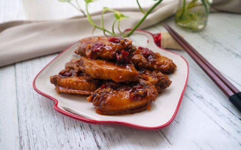 Braised Spicy Chicken Wings Recipe