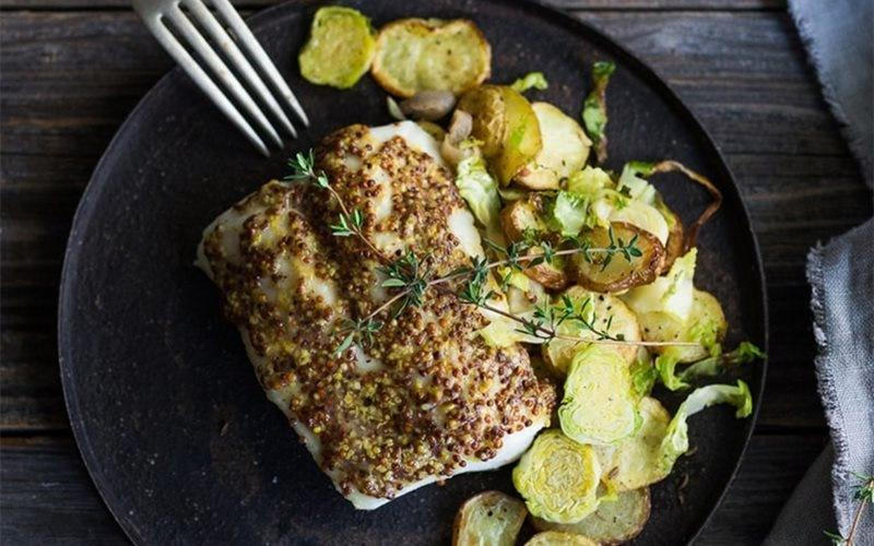 Easy Baked Fish Recipe: Make Fish Fillet Baked With Mustard