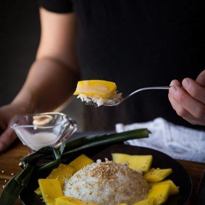enjoy the delicious sticky rice