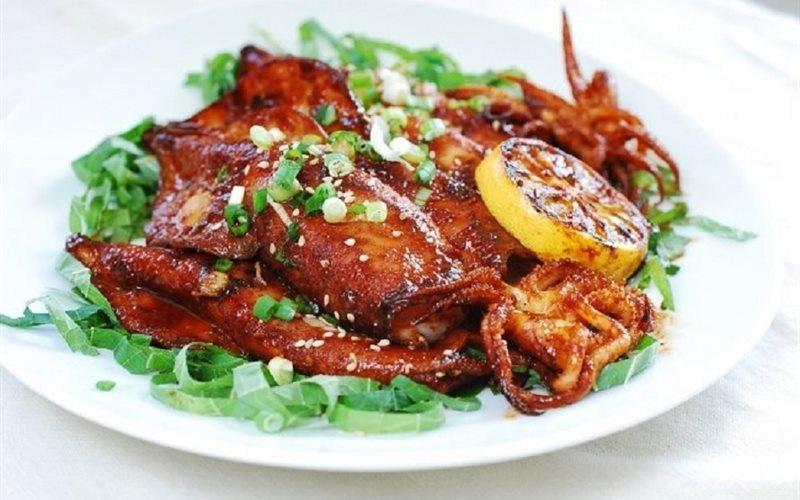 Grilled Spicy Baby Octopus Recipe