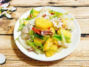 how to cook sweet and sour squid