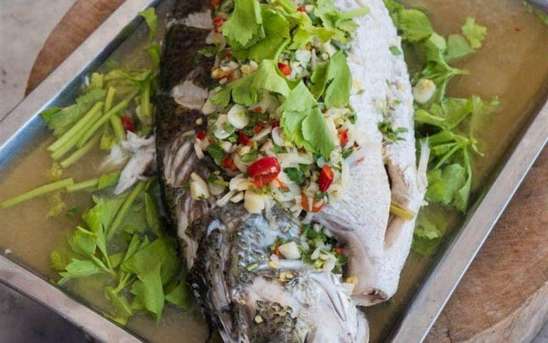 How To Cook Thai Steamed Fish