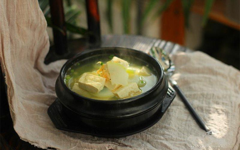How To Cook White Radish And Tofu Soup