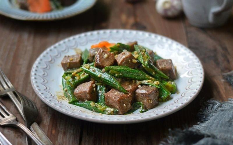 How To Make Okra And Beef Stir Fry