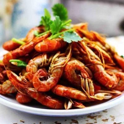 how to make spicy stir-fry shrimps
