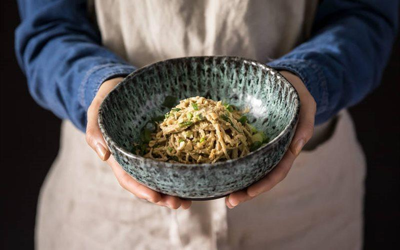 Japanese Soba Noodles Recipe-Soba Mixed Peanut