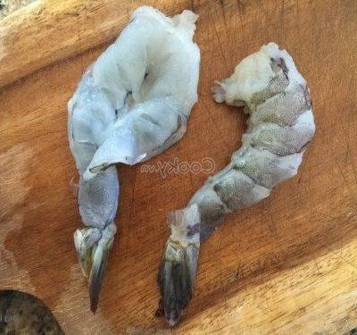 split shrimps
