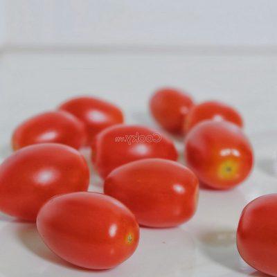 wash cherry tomatoes
