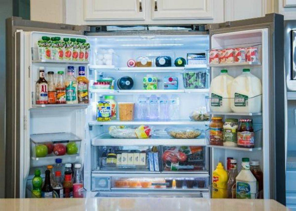 Refrigerators preserve food daily so they often accumulate food smells