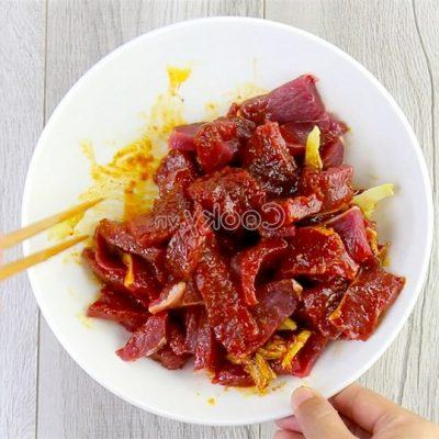marinate beef