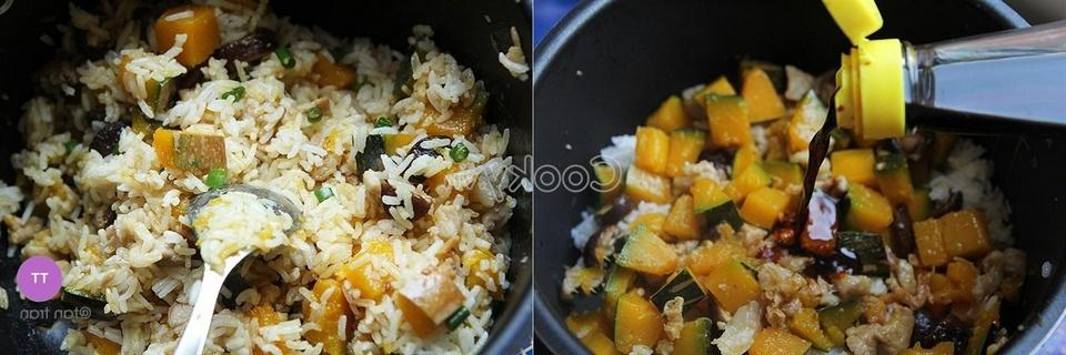 add cooked rice and stir-fry