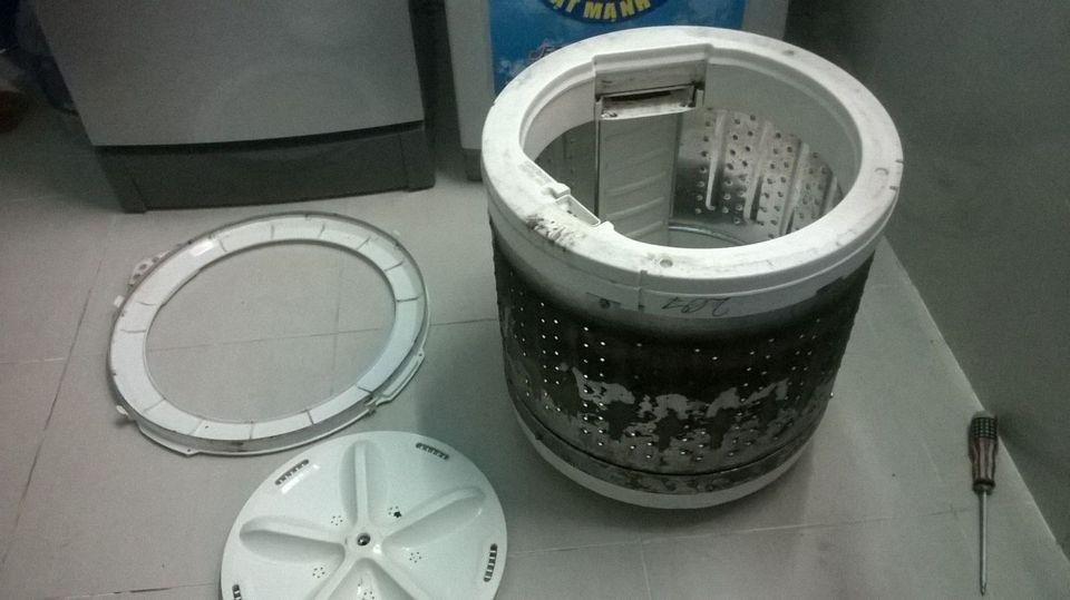 Washing machine easily gets dirty