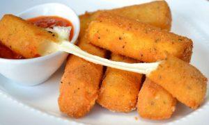 fried cheese sticks recipe