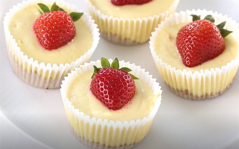 How To Make Mini Cheese Cupcake