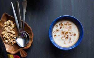 peanut coconut milk sweet soup
