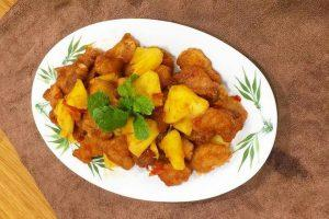 pork tenderloin stir-fry pineapple