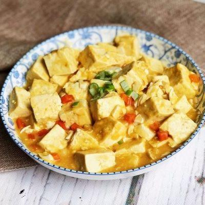 how to cook tofu hwith salted duck eggs