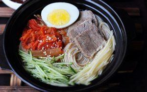 how to make Korean cold noodles