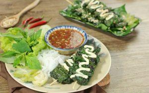 how to make beef roll in betel leaves