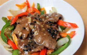 how to make beef with black pepper